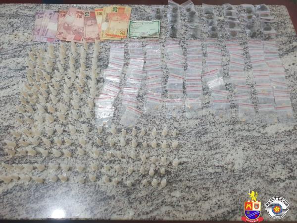 Polícia Militar prende homen por tráfico de drogas em Itapevi