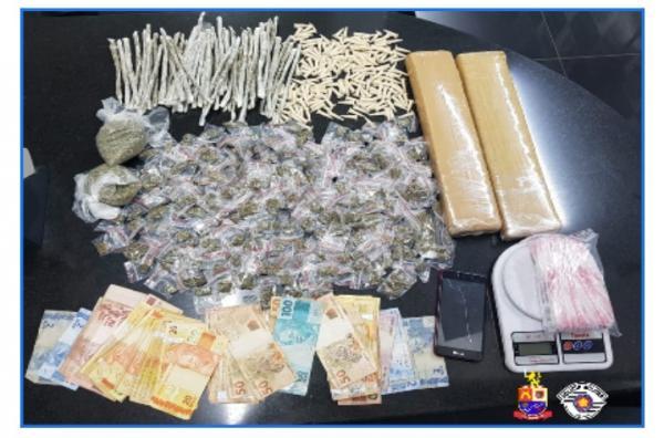 Polícia Militar prende criminoso por tráfico de drogas em Barueri
