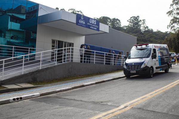 Prefeito Rogério Franco inaugura nova UBS do Mirizola, a 1º unidade 100% digital de Cotia
