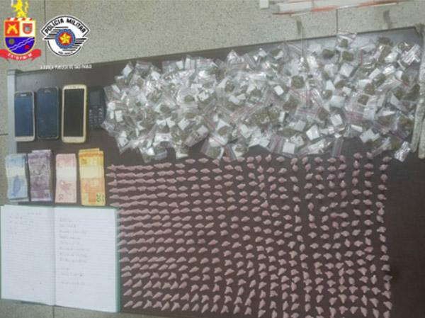 Polícia Militar detém um indivíduo por crime de tráfico de drogas em Pirapora do Bom Jesus
