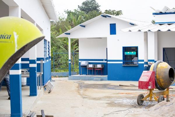 E.M Francisco Ferreira ganhará novas salas de aula, pátio coberto e até um espelho d'água