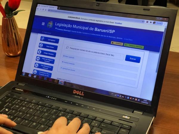 Prefeitura de Barueri moderniza acesso digital à legislação municipal