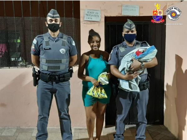 Polícia Militar salva recém-nascido vítima de engasgamento em Itapevi