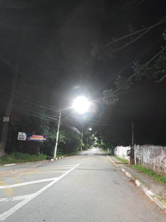 Ruas da Vila Santo Antônio, região da Granja, recebem lâmpadas LED