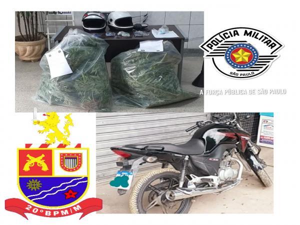 Polícia Militar prende quatro indivíduos por tráfico de drogas e roubo em Pirapora do Bom Jesus