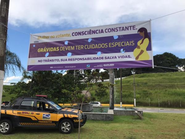 Secretaria de Segurança realiza campanha sobre mulheres ao volante