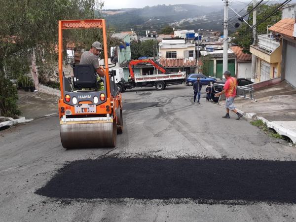 Operação Tapa-buraco passa pelo bairro Jardim Empírio