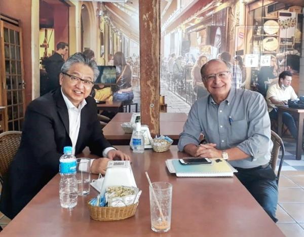 Ex governador Geraldo Alckimin fala da importância de Pedro Mori nas eleições em 2022
