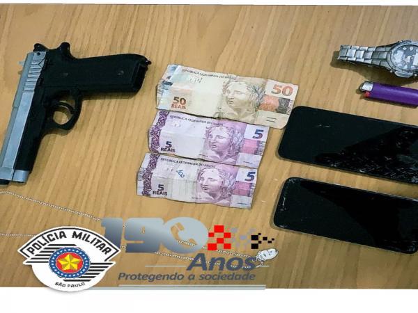Polícia Militar prende dois homens por roubo em Itapevi