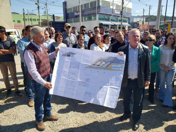 Prefeito Josué Ramos anuncia inicio das obras do Terminal Urbano Municipal