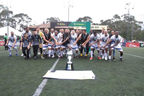 Seleção de Jandira é campeã da Copa do Brasil de Futebol de 7