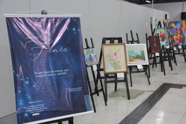 Ganha Tempo recebe exposição de artes visuais de autores da Grande SP