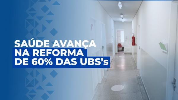 Saúde de Jandira avança na reforma de 60% das UBSs
